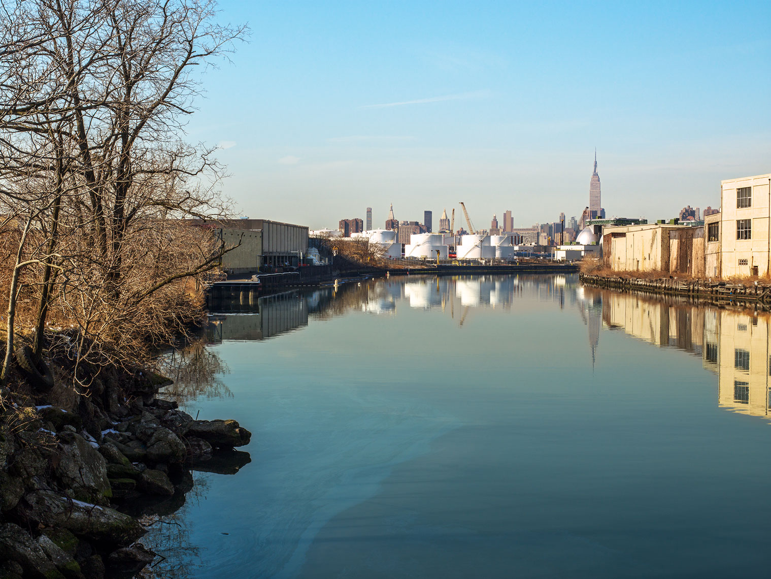 Newtown Creek, Brooklyn and Queens, NY